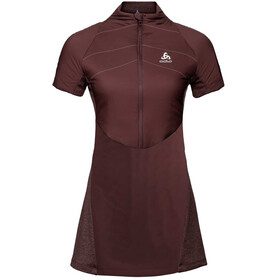 Odlo Millenium S-Thermic Kleid Damen decadent chocolate melange